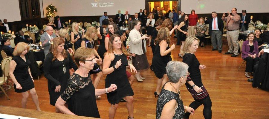 Crusader Gala dancing