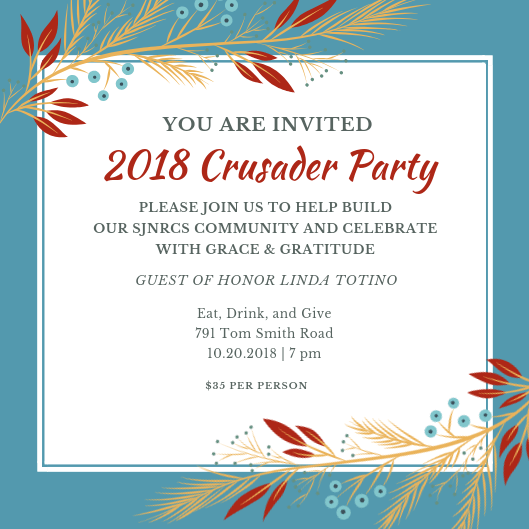 Website Crusader Party 2018